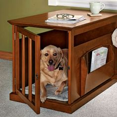 Dog Crate/ End Table