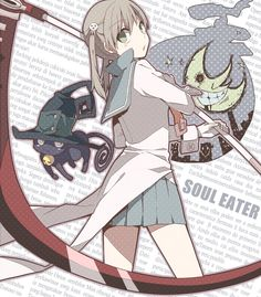 Soul, Maka and Blair.