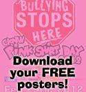 Pink Shirt Day - Bullying Stops here.