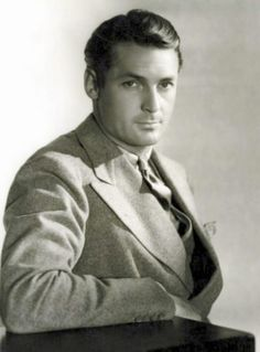 """Charles Farrell (1901-1990) Silent leading man - he went on to eventually play """"My Little Margie""""'s Dad in his mature years"""