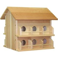 Heath Outdoor Products Wood Martin House
