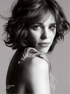 "Rachel McAdams | ""Love's the thin thread that keeps everything together."""