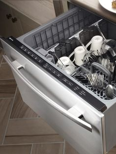 Another model of a raised dishwasher no more bending for Universal design kitchen ideas
