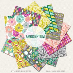 Arboretum Fabric Collection For @Lucinda Freece Freece snyder  | Heather Dutton