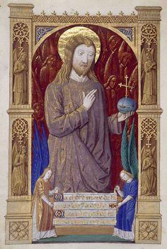 Biblioteca Digital Hispánica - 015-Libro de horas de Carlos VIII Rey de Francia - 1401-1500