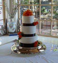 Wedding cake by Windy City Cakery