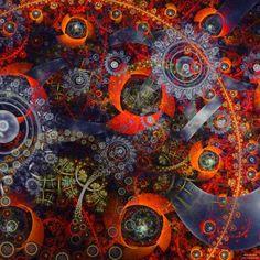Probability Matrix by James Alan Smith #digitalart #art