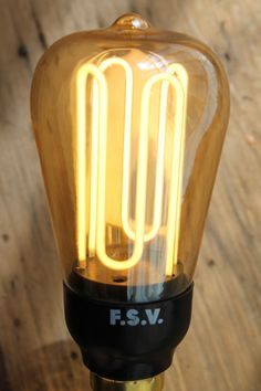 #CFL Squirrel Cage #Designer #Bulb. More at www.FatShackVintage.com.au