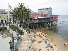 Cannery Row in Monterey, California