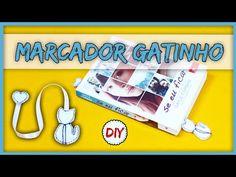 DIYminuto: Marcador de página GATINHO - YouTube