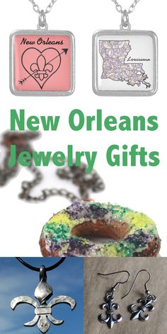 New Orleans Jewelry Gift Ideas, featuring jewelry designed and created by New Orleans artists. New Orleans Louisiana, Jewelry Gifts, Handmade Gifts, Crochet Earrings, Jewelry Design, Artists, Gift Ideas, My Favorite Things, My Style
