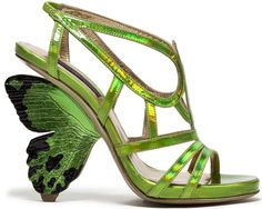 Spring/Summer 2014 shoes: The Butterfly Effect | Alberto Guardiani's FLUTTERBY sandals
