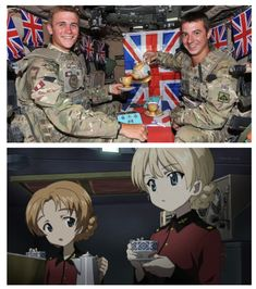 See more 'Girls und Panzer' images on Know Your Meme!