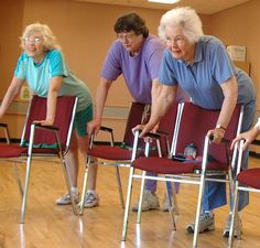 Yoga and Seniors - it can improve the mind and body.