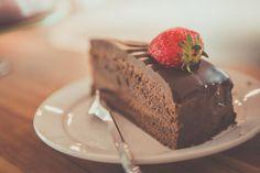 Čokoládový dort s kávovým krémem bez mouky - DámskýDeník.cz
