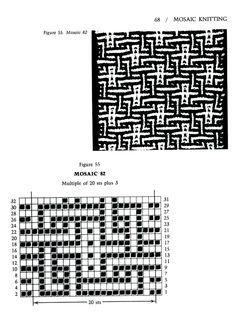 Mosaic Knitting Barbara G. Walker (Lenivii gakkard) Mosaic Knitting Barbara G. Walker (Lenivii gakkard) #73