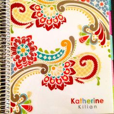 """""""No more worries now that I can finally write my life schedule in my @erincondren planner """""""