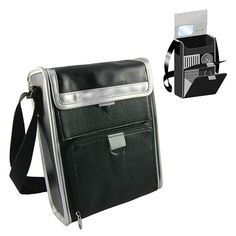 Star Trek Tricorder Replica Hard Case Black Small Messenger Bag