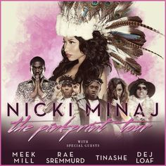Nicki Minaj Announces North American Dates For THE PINKPRINT TOUR