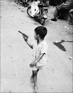 Vietnam conflict. . . . Do you shoot him before he shoots you?