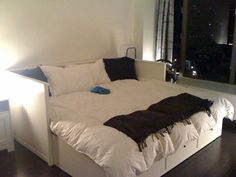 ikea hemnes daybed home decor pinterest hemnes and daybed. Black Bedroom Furniture Sets. Home Design Ideas