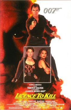1989 - Licence to Kill met Timothy Dalton