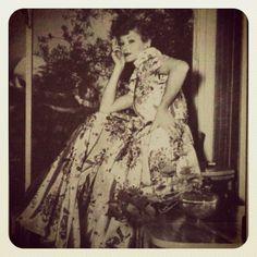 : Rare Picture of Lucille Ball