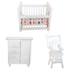 Wood Wooden Dollhouse Furniture Set Miniature Doll House Accessories Sets For Living Room