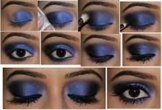 In our previous post regarding Smokey Eye Makeup Ideas we have covered some points for simple smokey eye makeup. Now in this article we tried to provide more details about blue smokey eye makeup tips. Eye Makeup Tips, Smokey Eye Makeup, Diy Makeup, Beauty Makeup, Makeup Eyeshadow, Diy Beauty, Makeup Ideas, Fashion Beauty, Makeup Contouring