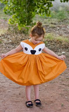 fox playtime dress tutorial // oliver + s