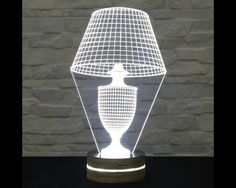 This lampshade shaped 3D LED lamp has an amazing effect. You can use it as home decor, table lamp, night light etc. It creates different ambience in your rooms..  Innovative LED lamp that tricks...