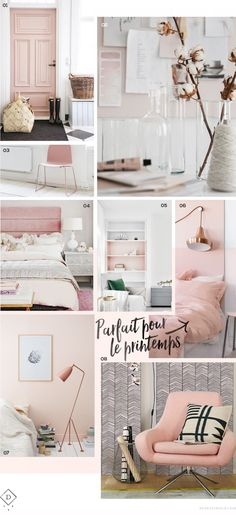 Love the 2 tone shelves Pink Bedrooms, Girls Bedroom, Bedroom Decor, Bedroom Ideas, Master Bedroom, Pantone, Beauty Room, Kid Beds, New Room