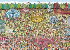 Waar is Wally?' of zelfs 'Where's Wally? Picture Story For Kids, Ou Est Charlie, Hidden Book, Can You Find It, Wheres Wally, Childhood Tv Shows, Sequencing Activities, Hidden Pictures, Right Brain