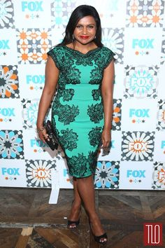 8afdc716ad1b0 Mindy Kaling Gets Glam for Fox s Summer TCA All-Star Party!  Photo Mindy  Kaling is glowing in turquoise as she poses for a photograph while  attending the ...