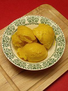 Easy Mango Lime Sorbet - Just 3 Ingredients!