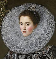Portrait of Ana de Velasco y Girón Duchess of Braganza Black Cowboys, Arte Sketchbook, Paper Lace, Irish Lace, Historical Costume, Historical Art, Victoria And Albert Museum, Lace Collar, Museum Of Fine Arts