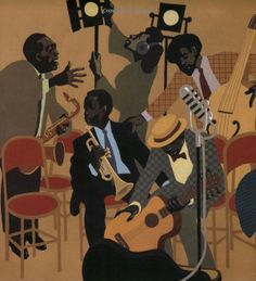 The Art of Leo and Diane Dillon: Jazz on a Saturday Night