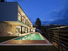 Oos House by Sanahuja & Partners - CAANdesign | Architecture and home design blog