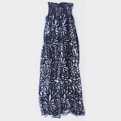 Maxi Dress ✨Tube Top Black Floral Pattern Like New Condition Never Worn. Black/grey floral pattern . Tube top. Flowy✨ elegant ✨ and light weight☺️ MUST HAVE for Summer ☀️✨ Pretty Good Dresses Maxi