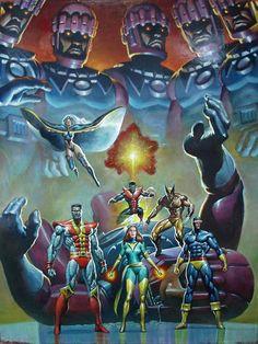 X-Men by Mark texeira