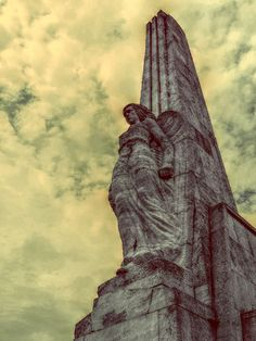 Obelisk Horea ,Closca & Crisan by Lolli Elena-b Clouds, Sky, Sculpture, Statue, History, Awesome, Photography, Heaven, Historia
