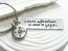 Hey, I found this really awesome Etsy listing at https://www.etsy.com/listing/174373452/a-grand-adventure-is-about-to-begin