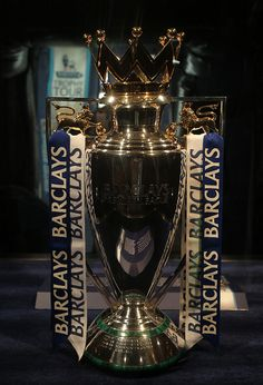 These are the latest pictures from the Doha leg of the Barclays Premier League Trophy Tour. The Trophy was in Qatar from Thursday of April to Saturday of April. Premier League Teams, Barclay Premier League, Premier Football, Sport Football, Chelsea Football, Chelsea Fc, Football Tattoo, Sports Trophies, Barclays Premier