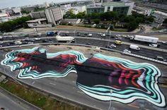APTOPIX France Street Art - Binta/AP Photo