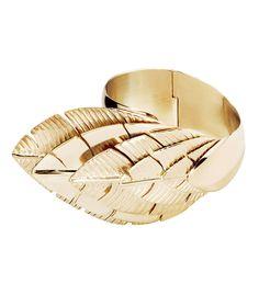 Aurelie Bidermann Talitha Gold Cuff