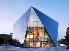 Designed by Farshid Moussavi, the new home for the Museum of Contemporary Art (MOCA) Cleveland in Ohio cuts a fine and enigmatic figure - Living Room Ideas, Interior Design, Home Design, House Design