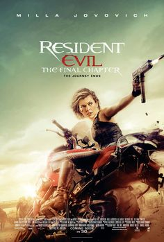 Resident Evil: The Final Chapter is coming in February 2017, and to tease us with that fact, here is a new poster featuring Milla Jovovich