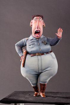 Personaje Sheriff Hooper en El alucinante mundo de Norman