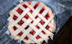 Sour Cherries from Michigan are a revelation, to those who've never tasted them before. In this post, I teach you how to make The Best Homemade Cherry pie, and my recipe uses frozen sour cherries from Michigan. #cherries #cherrypie #recipe #sourcherries #frozensourcherries Sour Cherry Pie, Michigan Cherries, Homemade Cherry Pies, Pastry Shells, Frozen Cherries, Pie Crust Recipes, Pie Plate, How To Make Homemade, Recipe Using