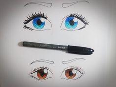 Tutorial- Como pintar olhos - YouTube